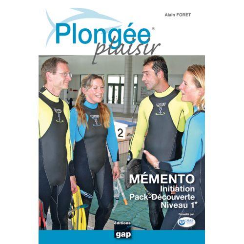 PLONGEE PLAISIR MEMENTO  Initiation Pack Découverte Niveau 1