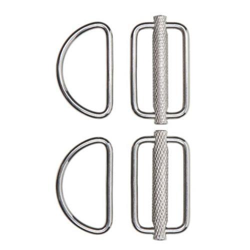 D-Ring coulissant (2 pièces)