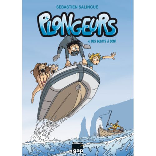 BD Plongeurs T4 – Des bulots à donf