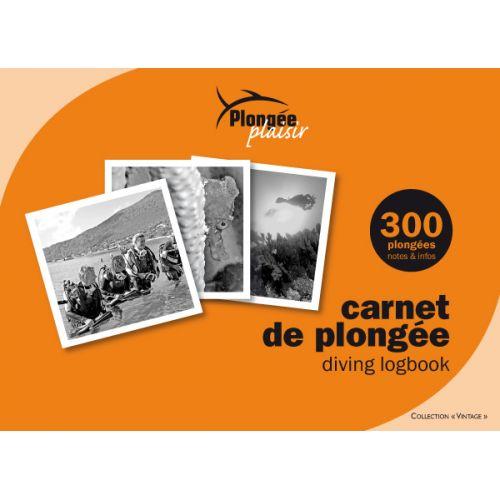 CARNET PLONGEE - Vintage -
