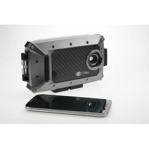 Caisson I-Pix S4 noir pour Samsung Galaxy S4